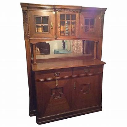 Cabinet Whiskey Early American Bar Pull Shelves