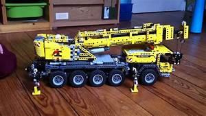 Lego Technic Camion : video camion grue lego technic 42009 youtube ~ Nature-et-papiers.com Idées de Décoration