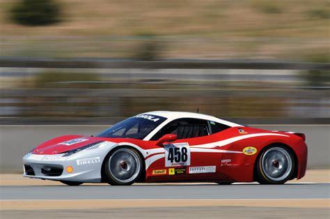 Ferrari 458 Challenge At Laguna Seca Photo Gallery Autoblog