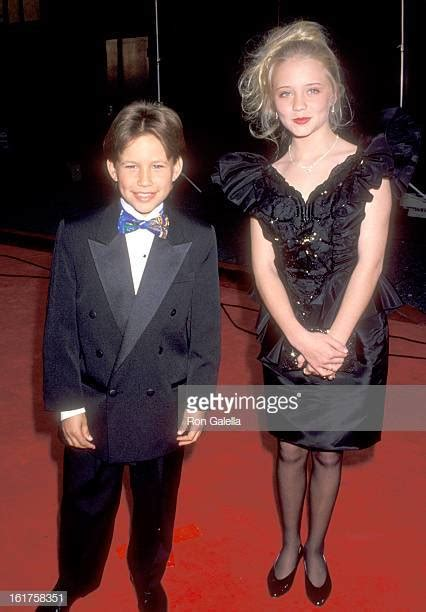 actress jessica wesson jonathan taylor thomas stock photos and pictures getty