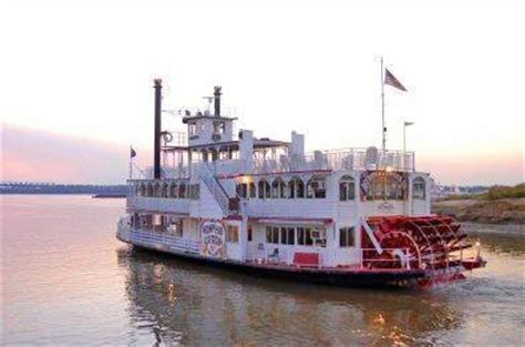 1 Day Mississippi River Boat Cruise From Memphis by Memphis Riverboats Sightseeing Dinner Cruises