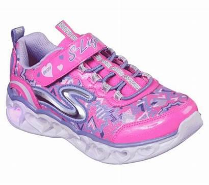 Lights Heart Skechers Shoes