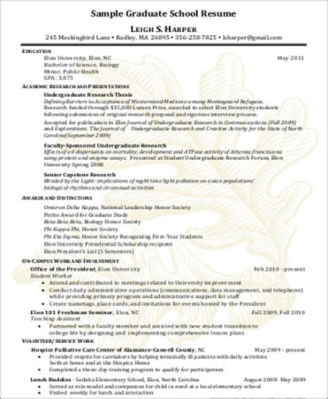 graduate school resume 8 sle high school graduate resumes sle templates