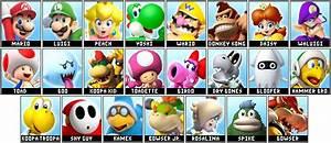 Mario Party FULL Roster By Ticklinglicker On DeviantArt