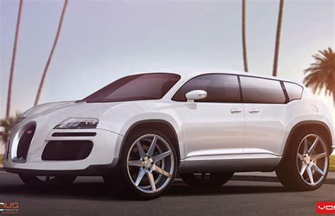 This Bugatti Veyron Suv Concept Makes Us Wonder, What If