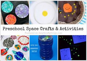 Preschool Space Crafts and Activities | I Heart Crafty Things