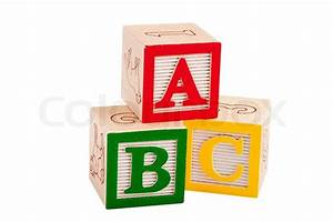 wooden blocks with letters and numbers letter of With blocks with letters on them