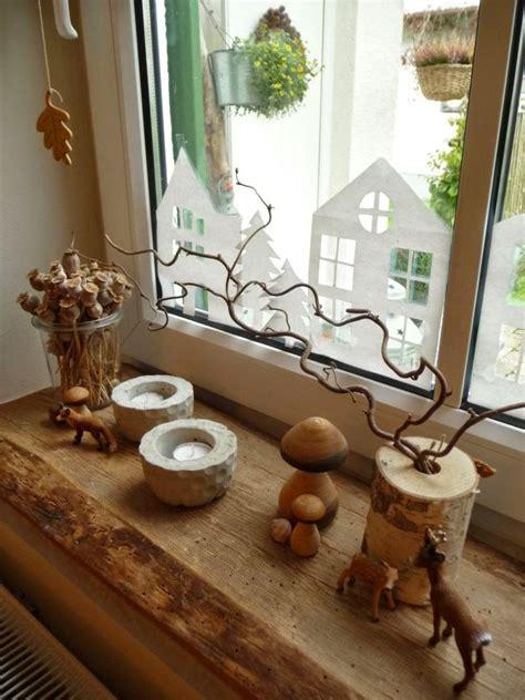 Herbst Fensterbank Deko by Meine Gr 252 Ne Wiese Zapfenm 228 Nnchen Und Neues Aus Beton