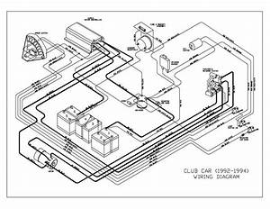 12 Volt Golf Cart Wiring Diagram