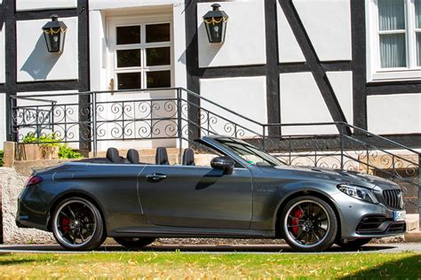 Yes you get a lot of performance, and the fact there are only 63 examples being made for australia and new zealand could be enough to get. 2021 Mercedes-AMG C63 Cabriolet Exterior Photos | CarBuzz