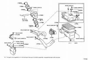 Lexus Es 300 Engine Air Intake Resonator  Used To Reduce