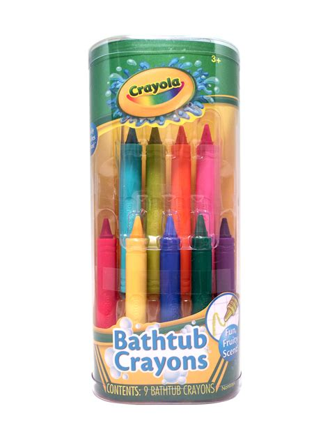 Crayola Bathtub Crayons 18 Vibrant Colors by Department Stores