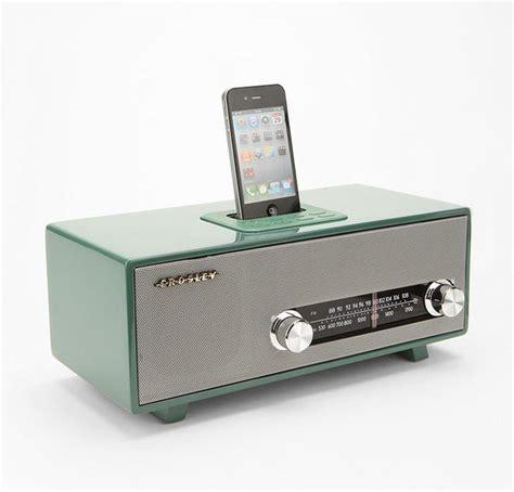 iphone radio vintage radio with dock speaker for iphone gadget sins