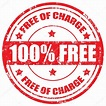 Free Of Charge-stamp — Stock Vector #33178093