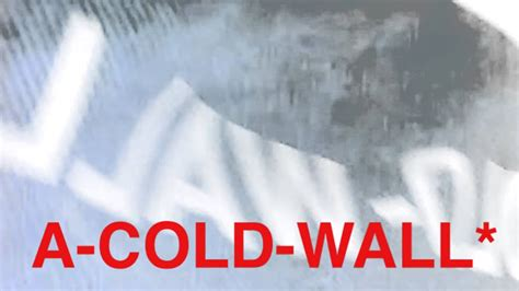 cold wall overcoat youtube