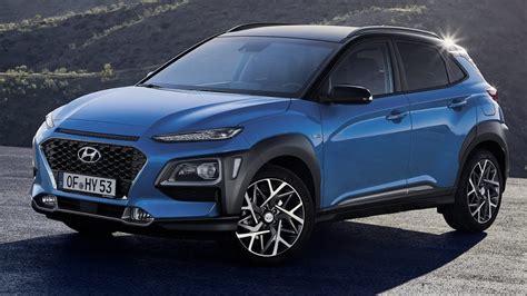 hyundai suv 2020 2020 hyundai kona hybrid suv unveiled