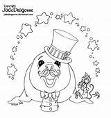 Deviantart Coloring Fleas Flea Jadedragonne Circus Clown Traditional Ink Dragon Line Snoopy sketch template