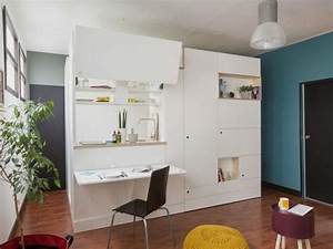 Meuble Pour Petit Appartement : l pine 2018 very good box am nager un studio en un meuble ~ Maxctalentgroup.com Avis de Voitures