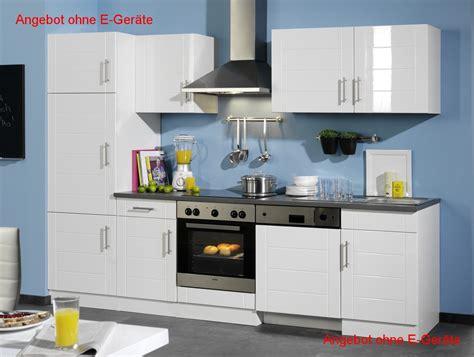 Kuchenzeile 280 Cm by K 252 Chenzeile Nevada K 252 Chen Leerblock Breite 280 Cm