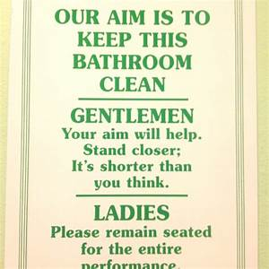 Bathroom humor quotes quotesgram for Funny words for bathroom