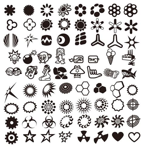 vector design elements collection  vector graphics