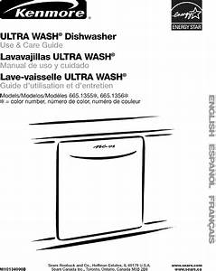 Kenmore Dishwasher Manual Model 655