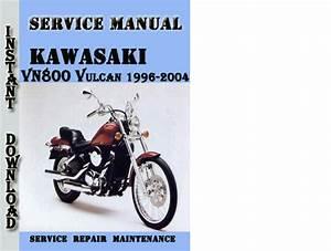 Kawasaki Vn800 Vulcan 1996-2004 Service Repair Manual
