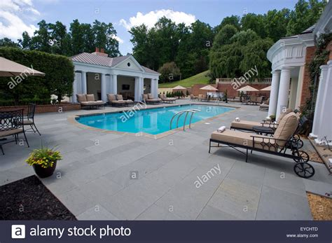The Outdoor Swimming Pool At The Albemarle Estate At The