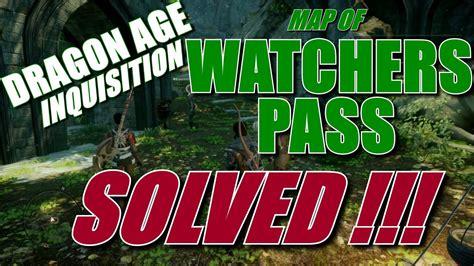 dragon age inquisition map  watchers pass treasure