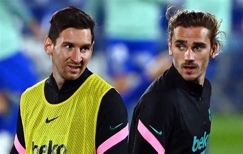 Barça: « On respecte Messi », Griezmann pris à partie à la ...