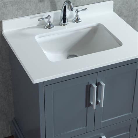 30 inch bathroom sink ace 30 inch single whale grey bathroom vanity set with mirror