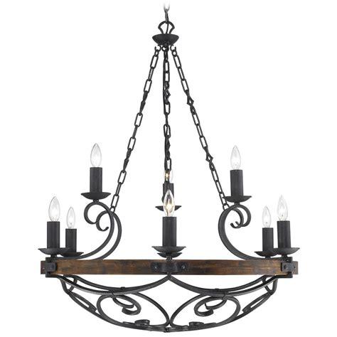 black iron chandelier golden lighting madera 9 light chandelier in black iron