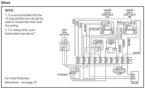 honeywell junction box wiring diagram 37 wiring diagram