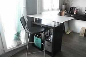 Meuble Buffet Cuisine : meuble bar angle cuisine ~ Teatrodelosmanantiales.com Idées de Décoration