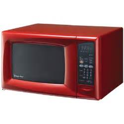 Magic Chef Red Microwave Oven