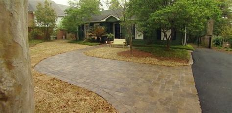 paver driveway  concrete patio project part  today