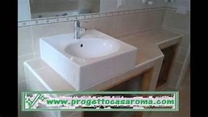 Ristrutturazione Appartamento Bagno Roma Realizzazione Di Lavabo In Muratura