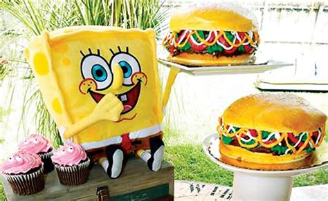 spongebob cuisine spongebob squarepants birthday pretty my