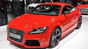 Next Audi Tt Rs Comes In 2016  Manual Transmission Doesn U0026 39 T
