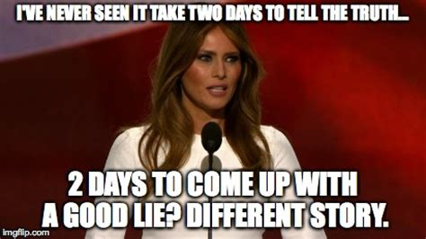 People Lampooned Melania Trump For Copying Michelle Obama's Speech