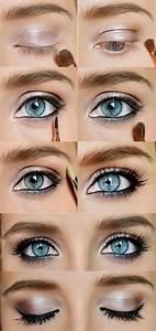 Smokey Eye Makeup Tutorial For Blue Eyes - Makeup Vidalondon
