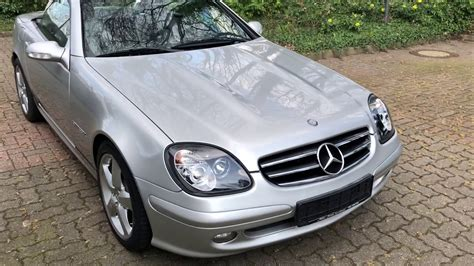 What is the top speed of a mercedes benz slk (r170) 230 kompressor? Mercedes Benz SLK 230 Kompressor - YouTube