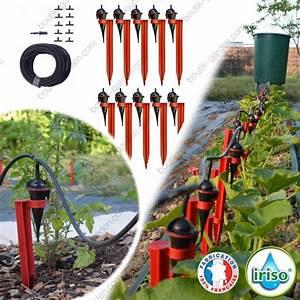 Arrosage Goutte à Goutte Potager : arrosage goutte goutte iriso kit jardin potager ~ Dailycaller-alerts.com Idées de Décoration