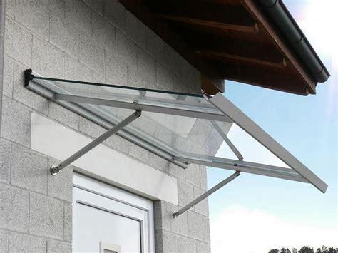 tettoie ingresso esterno pensiline e tettoie per esterni in vetro alluminio e pvc