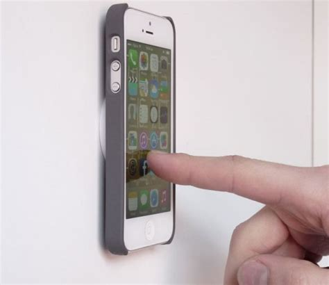 iphone wall mount wall mount for the iphone makes things way more convenient