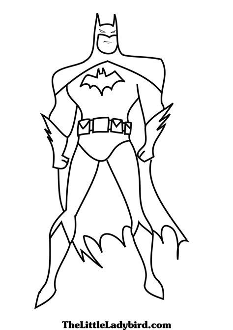 coloring pages batman batman animated series coloring pages embroidery
