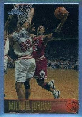 topps chrome refractor michael jordan  basketball