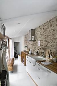 une ancienne maison de pecheurs cuisines maison pecheur With plan de maison design 9 renovation cuisine contemporaine et douce dans maison