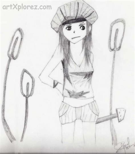pencil cartoon drawings   clip art carwadnet