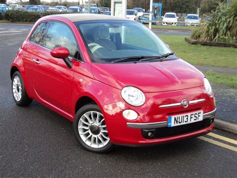 Fiat Lounge Convertible by Fiat 500c Lounge Cabriolet One Owner For Sale